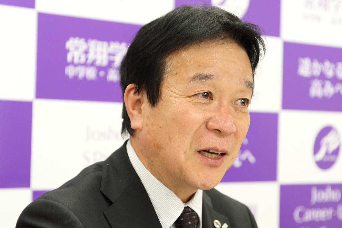 教育業界トップランナーインタビュー in 関西  常翔学園中学校・高等学校 北尾元一校長
