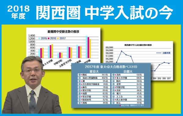 【教育情報】2018年度 関西圏 中学入試の今「#5 今後の関西圏中学入試の展望」を追加しました