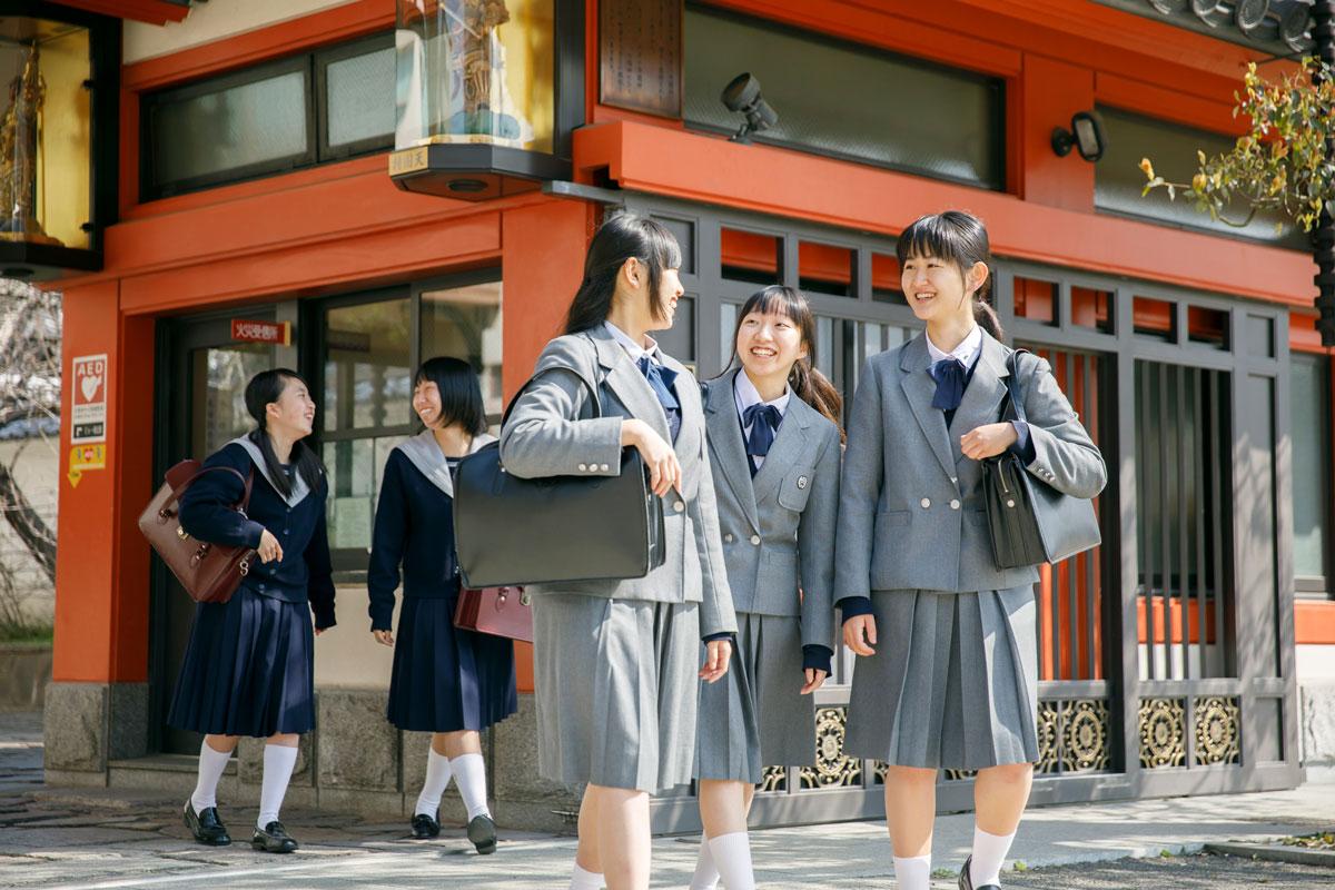 【学校情報】四天王寺高等学校・四天王寺中学校の学校紹介映像を追加しました